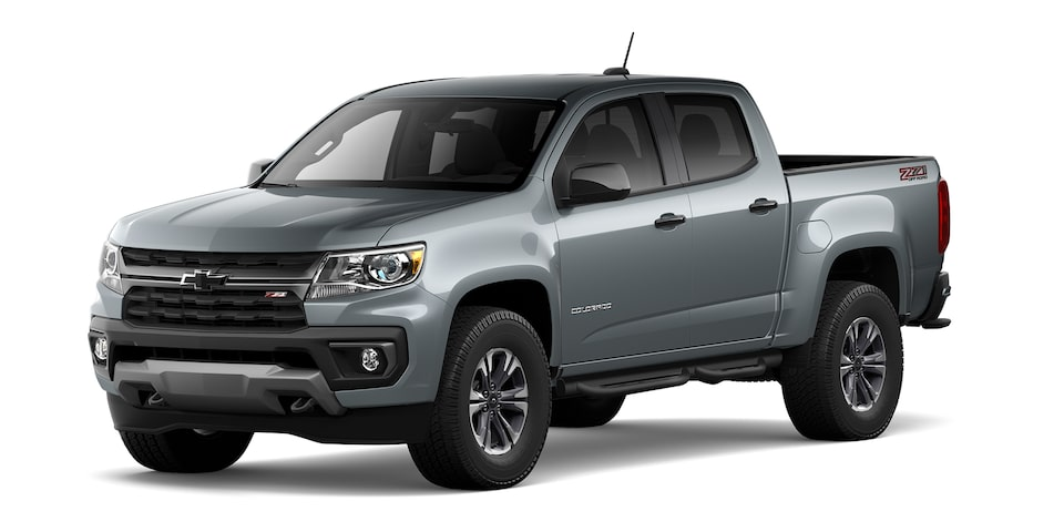 chevrolet Colorado 2021 en color Gris grafito metálico